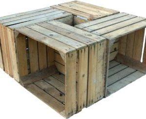 Cajas de madera Johana