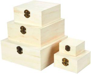 Juavale cajas de madera