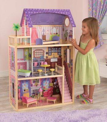 kidkraft-kayla-casa-de-muñecas-de-madera-con-muebles-y-accesorios