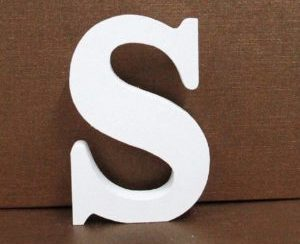 Letra de madera