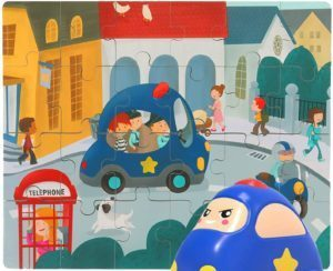 Nene Toys - Puzzle Infantil de Madera