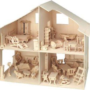 pebaro-880-casa-de-muñecas-con-muebles